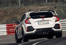Honda Civic Type R breekt ronderecord Nordschleife