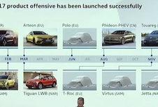 Calendrier 2017 Volkswagen dévoilé