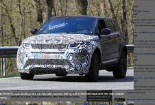 Range Rover Evoque 2019 : Il sera plus grand