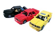 E30 BMW M3 in Lego