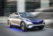 Elektrische stadsauto van Mercedes in 2020 #1