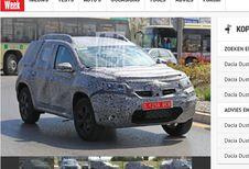 Dacia Duster : nouvelle plateforme et 7 places