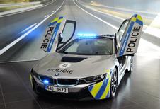 Slecht nieuws omtrent de BMW i8 van de Tsjechische politie