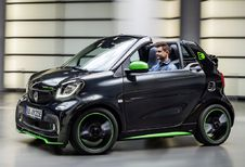 Smart Fortwo Cabrio wordt elektrisch