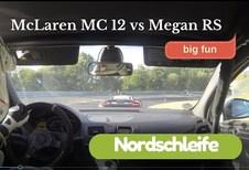 McLaren MP4-12C kan Mégane RS niet van zich afschudden