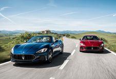 Maserati GranTurismo en GranCabrio: meer charisma