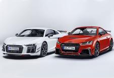R8 en TT RS krijgen Audi Sport Performance Parts