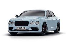 Bentley Flying Spur Black Edition : valet noir
