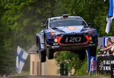 Thierry Neuville et Nicolas Gilsoul en tête du WRC