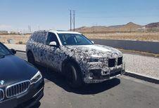 BMW X7 en test dans le Nevada