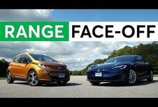 Chevrolet Bolt/Opel Ampera-e geraakt verder dan Model S