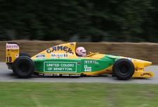 Grote Prijs van Spa-Francorchamps 2017: zoon Schumacher bestuurt Benetton-F1