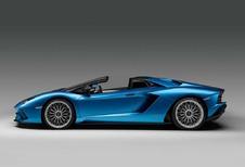 Lamborghini Aventador S Roadster : Existe aussi sans le toit !