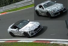 BMW Z4 et Toyota Supra sur le Nürburgring