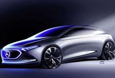 Mercedes EQA Concept : 1re illustration