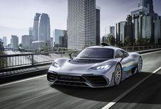Mercedes-AMG Project One : gènes de F1