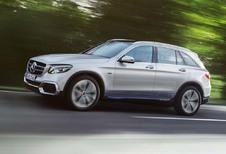 Mercedes GLC F-Cell : Pile à combustible et batterie rechargeable
