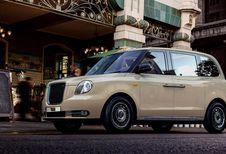 TX: nieuwe elektrische London Taxi in Frankfurt
