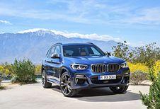 BMW X3 : nouveaux moteurs essence