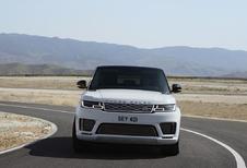 Vernieuwde Range Rover Sport als P400e Plug-in Hybrid