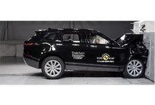 EuroNCAP : 5 étoiles pour le Range Rover Velar