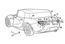 Mazda dépose un nouveau brevet d'aileron rétractable