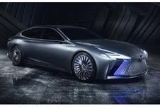 Lexus LS+ Concept: met geïntegreerde chauffeur