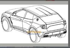 Lotus: eerste tekeningen van SUV