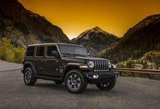 La nouvelle Jeep Wrangler sort du bois