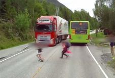 Un enfant sauvé par le freinage d'urgence !