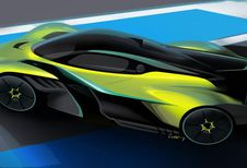 Aston Martin Valkyrie AMR Pro: circuitversie