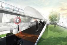 BMW Vision E3 Way: zwevende fietspaden voor de toekomst?