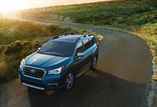 Subaru Ascent vervoert 8 personen