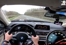 INSOLITE – 320 km/h en BMW M760Li