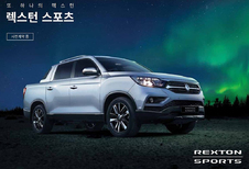 Nieuwe Ssangyong Rexton ook als pick-up