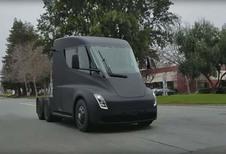 Tesla Semi : sans caméras et avec rétroviseurs