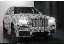 Rolls-Royce prêt à dévoiler son SUV ?