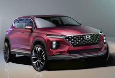 GimsSwiss 2018 - Hyundai Santa Fe: officiële schetsen