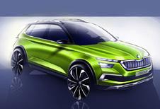 Gaat Vision X Concept de nieuwe Skoda Yeti vooraf?