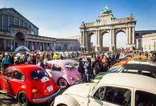 Love Bugs Parade verzamelt tientallen VW's Kever op het Jubelpark