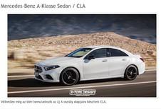 Future Mercedes CLA : Comme ça ?