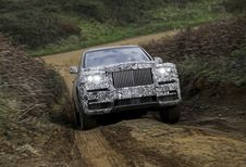 La Rolls-Royce Cullinan s'appellera... Cullinan