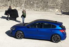 Nieuwe Ford Focus laat zich fotograferen