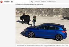 Ford Focus 2018 : première photo de la 4e génération