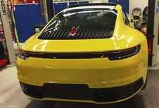 Nieuwe Porsche 911 toont alvast de billen