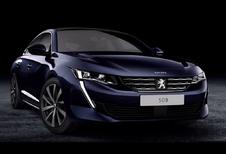 Peugeot 508 toont scherpe trekken