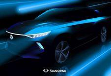 GimsSwiss – SsangYong e-SIV Concept : électrique