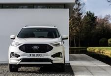 Vernieuwde Ford Edge beleeft Belgische première op SUV Days