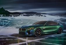 BMW Concept M8 Gran Coupé is middenvinger naar AMG GT 4-deurs Coupé