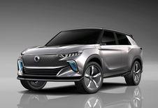 Gims 2018 – SsangYong e-SIV : futur SUV électrique